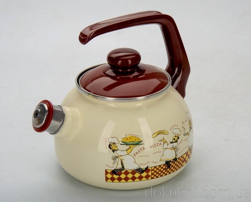 Чайник емальований купити